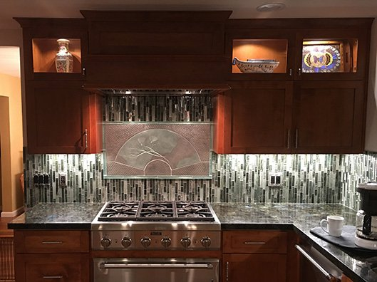 Kitchen remodeled by general contractor in Tracy