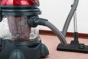 wet/dry vacuums are used on water damage restorations