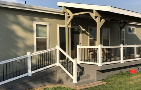 Accessible deck ramp remodel in Tracy, CA