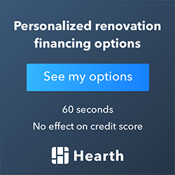 Hearth Financing with Elevated Development Construction for remodels in Tracy