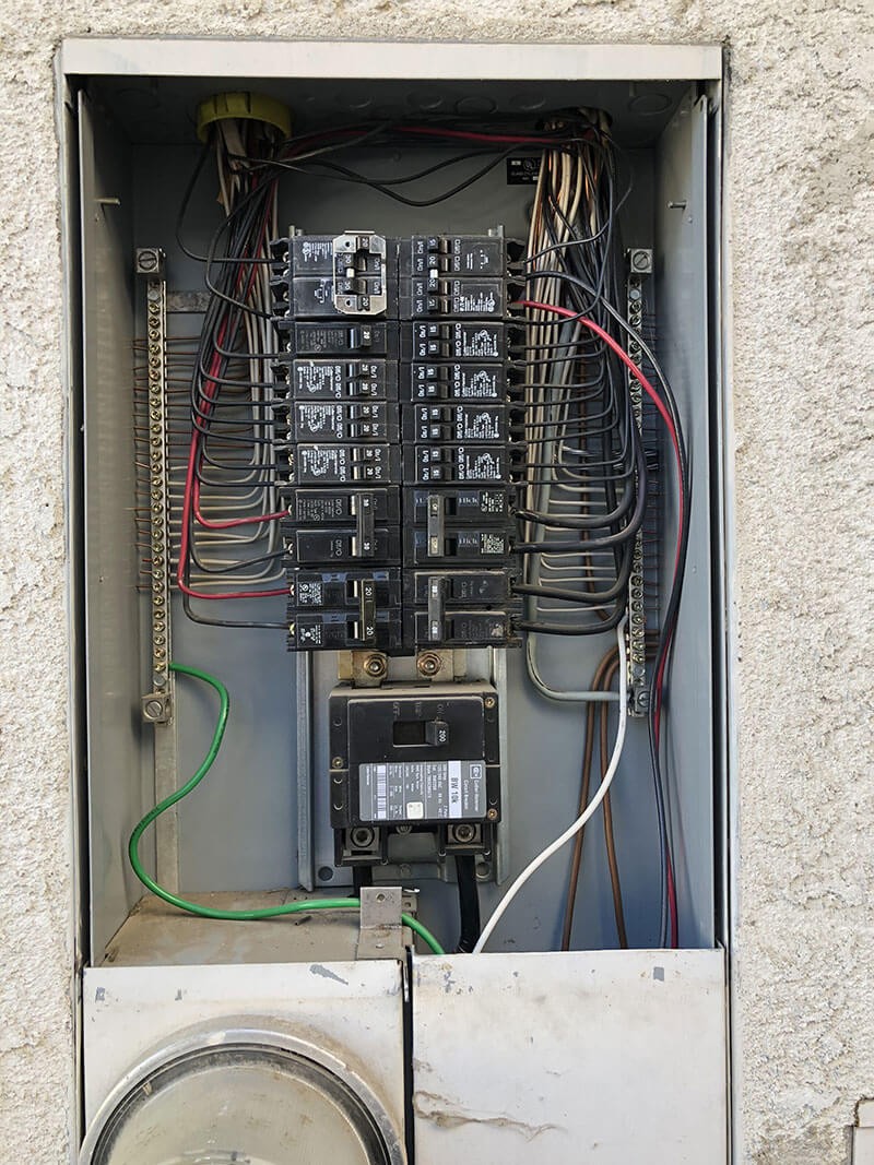 breaker box in tracy