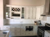 Tracy kitchen remodel with wine storage