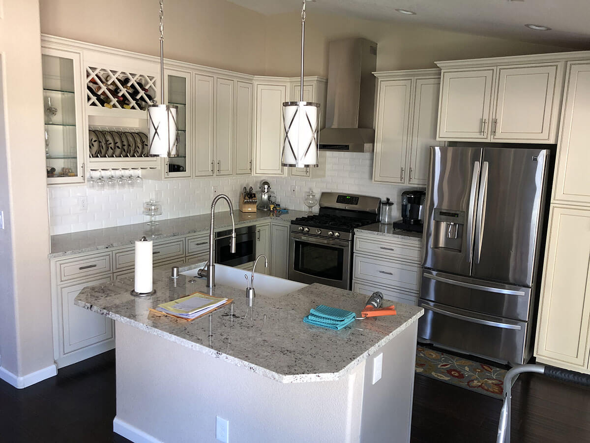 Kitchen remodel in Tracy