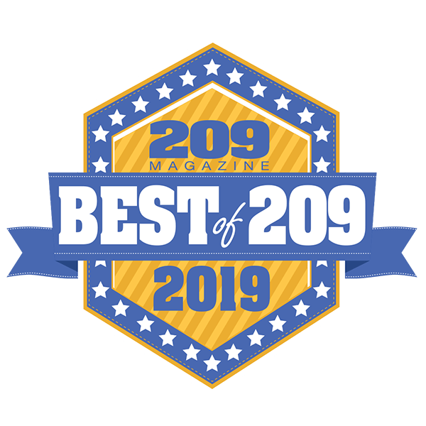 Best of the 209 award for 2019